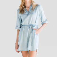 Karyn Chambray Shirt Dress