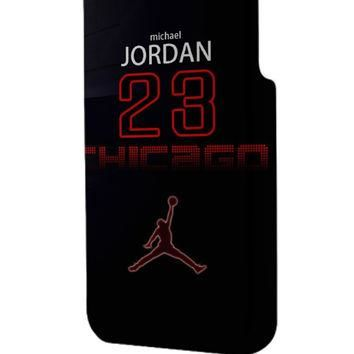 Best 3D Full Wrap Phone Case - Hard (PC) Cover with michael jordan number widescreen D