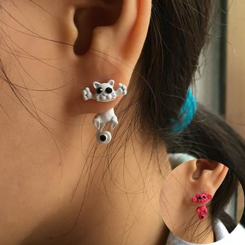 Bijoux Cat Earrings - Stud