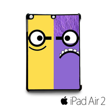 Adorable Despicable Me Minion for custom case iPad 2/iPad Mini 2/iPad 3/iPad Mini 3/iPad 4/iPad Mini 4/iPad Air 1/iPad Air 2