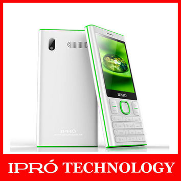 2015 New Ipro I3280 Original 2.8''Screen Mobile Phone Unlocked English/Spanish/Portuguese GSM Dual Sim WITH earphone cell phone