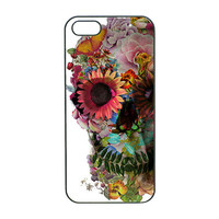Floral Skull,iPhone 5C case,iPhone 5S case,iPhone 5 case,Samsung S4 active case,Samsung Note3 case,Note2 case,Samsung S4 mini case,S3 mini