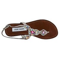 Glaare - T Strap Fashion Sandals by Steve Madden