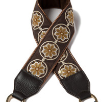 Autumn Bloom Camera Strap