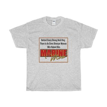 Marine Mom Cotton T-Shirt