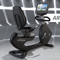 Discover SI Recumbent Lifecycle Exercise Bike | LifeFitness
