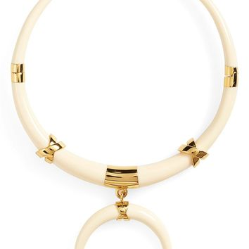 Tory Burch 'Oro' Resin Collar Necklace | Nordstrom