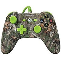 PowerA 617885009440 Realtree Mini Wired Controller for Xbox One - Xtra Green