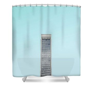 Urban Architecture - Oxford Street, London, United Kingdom 2 - Shower Curtain