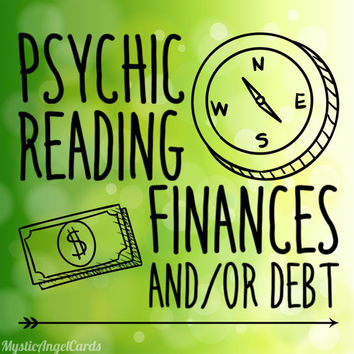 Psychic Reading- Finances, Money and Debt Reading, Manifest Abundance and Calm the Worry, accurate and in-depth reading video or email