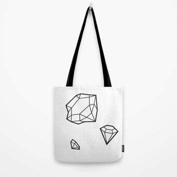 Shape of Gems Tote Bag by allisone