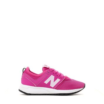 spbest NEW BALANCE PRESCHOOL KL247PPP PINK WHITE SHOES