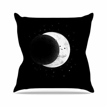 "Digital Carbine ""Slideshow"" Black Kids Throw Pillow"