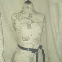 Paris Decorative Dress form designs with stand life size torso display