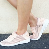 Run This Town Sneakers In Blush