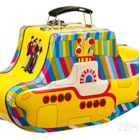 The Beatles - Yellow Submarine Embossed Tin Lunchbox