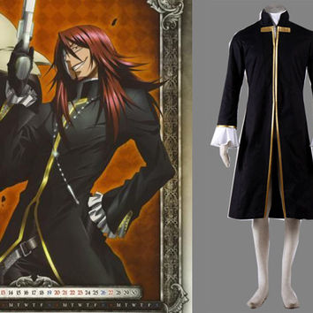Cross Marian Costume Long Coat, D.Gray-man Costume