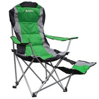 GigaTent Folding Camping Chair with Footrest