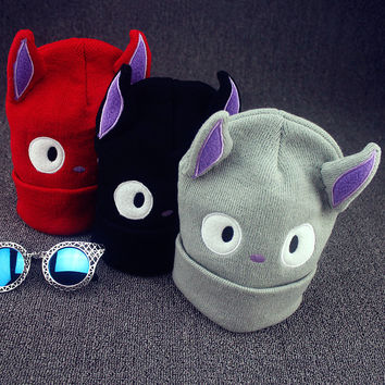 2016 Character Adult Novelty Time-limited New In Winter Hats Cartoon Ear Big Eyes Warm Cap Beanies Female Money Ms Hat Beanie