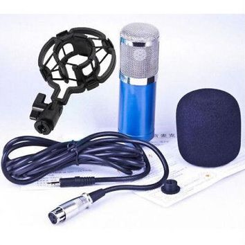 Professional Condenser Cardioid Recording 4 Broadcast Studio Computer Microphone