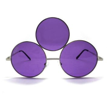 Third Eye Sunglasses- Purple