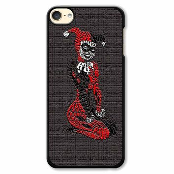 Harley Quinn Mozaic iPod Touch 6 Case