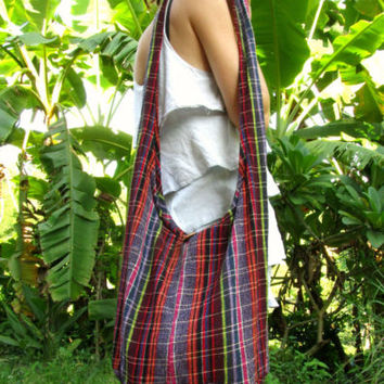 Large Tribal Cotton Shoulder Buddha Bag Hobo Sac Handbag Boho Hippie Festival | eBay