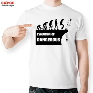 [EATGE] Evolution Of Dangerous Tshirt Funny Michael Jackson Fashion T Shirt Casual Novelty T-shirt Men Women Style Tee