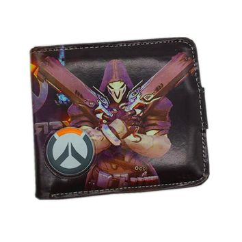 Cool Attack on Titan New Arrival Cartoon Wallet OW//LOL/Haikyuu Game HASP Wallets with Two Bill Compartment and 6 Card Holders Purse AT_90_11