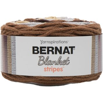Bernat Blanket Stripes Yarn Sand Dunes 300 Gram Skeins