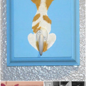 Custom Leash Hook - Send a pic of your pooch and we paint him!