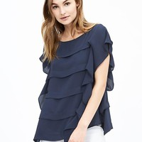 Tiered Flutter Top