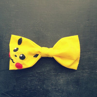 Pikachu Bow - Made to Order