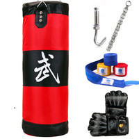 100cm Training Fitness MMA Boxer Boxing Bag Hook Hanging Sport Bag Sand Punch Punching Bag Sandbag
