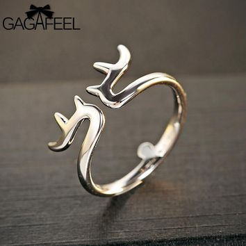 Open Ring 925 Sterling Silver Jewelry Accessories Gift