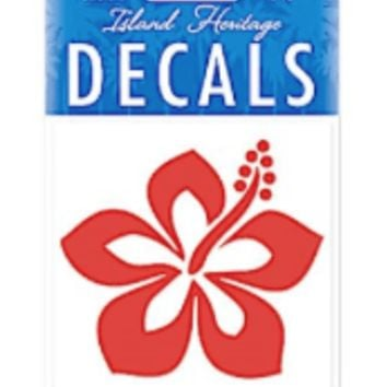 Hibiscus Sticker Decal