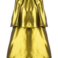 Au Jour Le Jour Pleated Shift Dress - O' - Farfetch.com