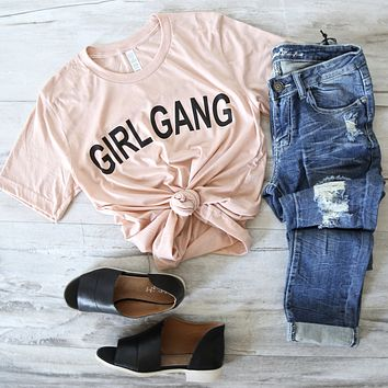 distracted - girl gang unisex t-shirt