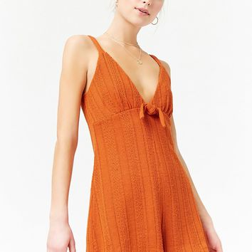 Bobble Knit Romper