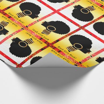 Black Girls Rock! Wrapping Paper