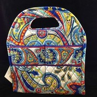 Vera Bradley Marina Paisley New Style Lunch Tote Insulated Bag NWT