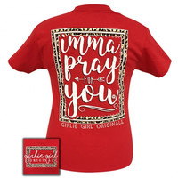 Girlie Girl Originals Preppy Imma pray for you T-Shirt