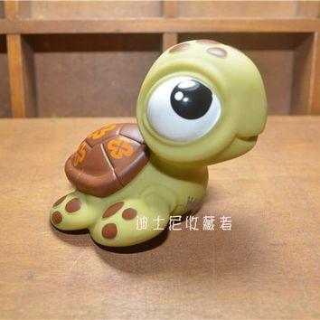 6-8CM Finding Nemo Finding Dory Squirt Sea Turtle Little Mermaid Flounder Fish PVC Action Figures Toy Collection Model Doll