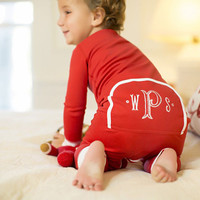 Newborn Baby Boys Girls Clothing Zipper Rompers Outfit Costume Red Cotton Long Sleeve Romper Baby Clothes