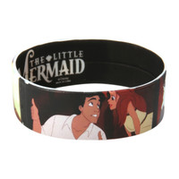 Disney The Little Mermaid Ariel Eric Rubber Bracelet