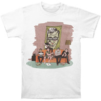 Neck Deep Men's  Sofa T-shirt White