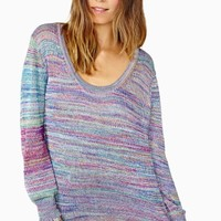 Nasty Gal Melted Rainbow Knit