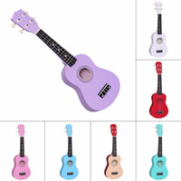 Professional 21 inch Small Acoustic Soprano Ukulele Musical Instrument Sales Promotion