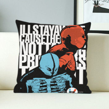 Twenty One Pilots - Design Pillow Case with Black/White Color.