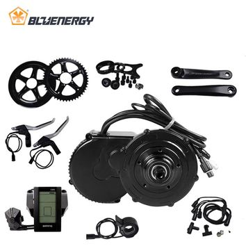 8fun Bafang 36V 500W BBS02 BBS02B EBike Mid Drive Motor Conversion Kits For Electric Bicycle With C961/C965/850C Display